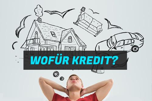 Wofür Kredit verwenden?